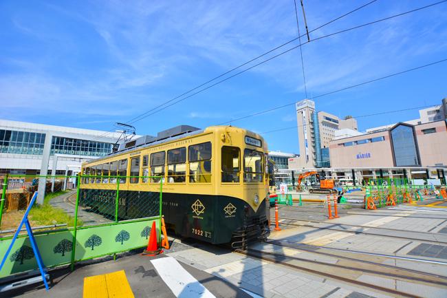 富山の交通機関 路面電車