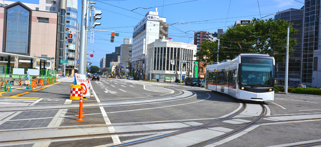 富山まつり 利便性のある交通機関