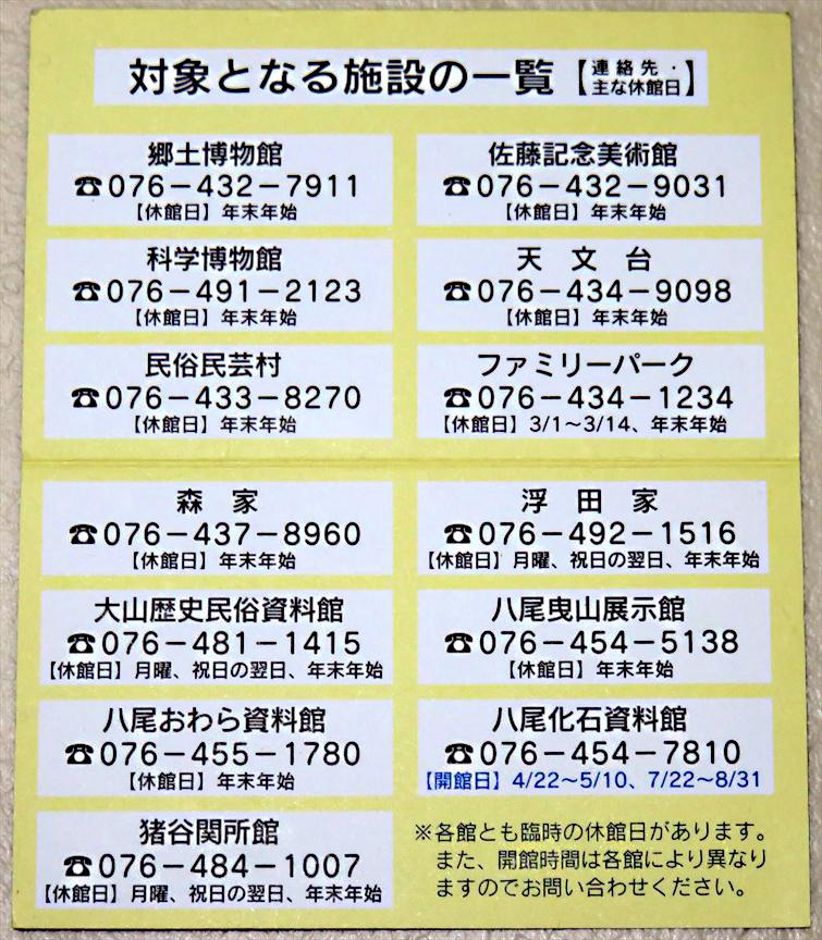 富山県 関所館(3)