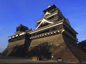 熊本城の写真素材